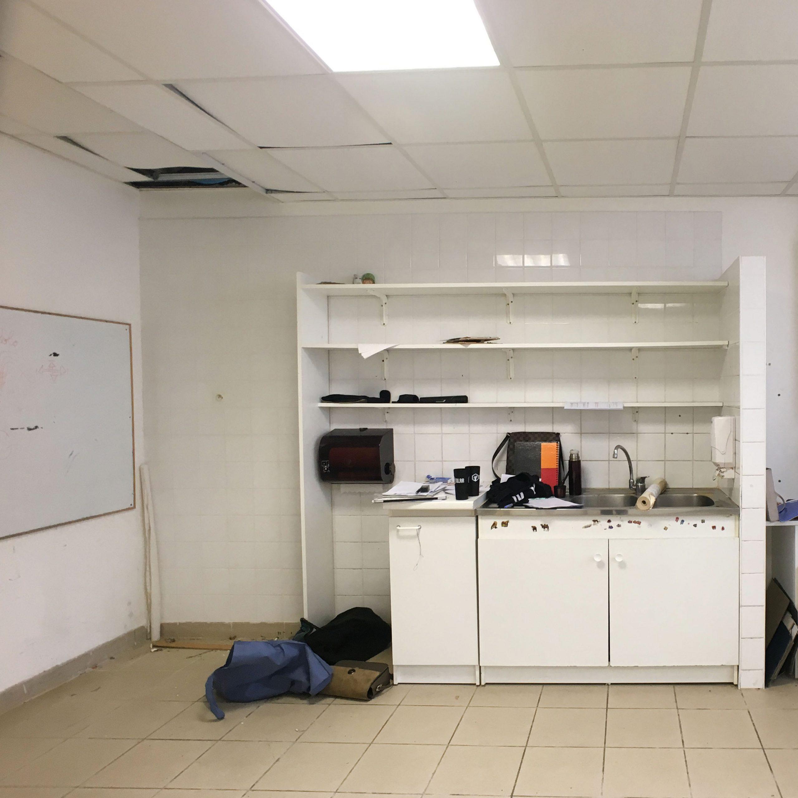 avant le decorateur : cuisine fermée