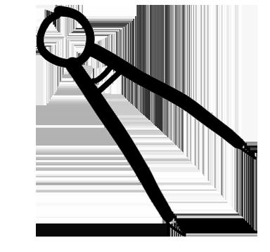 picto d'un compas