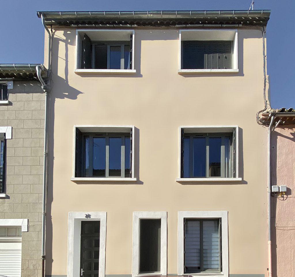 facade après renovation