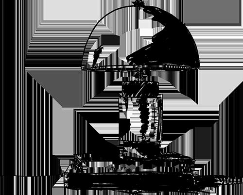 dessin déco de lampe noir et blanc