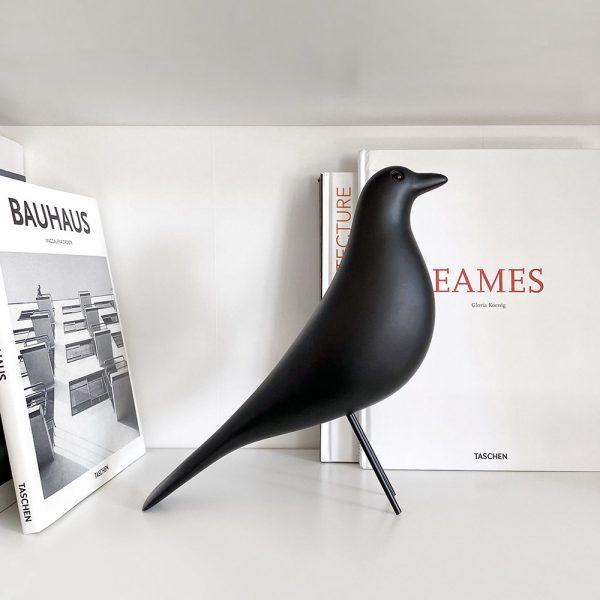 oiseau déco eames, et livres Bauhaus